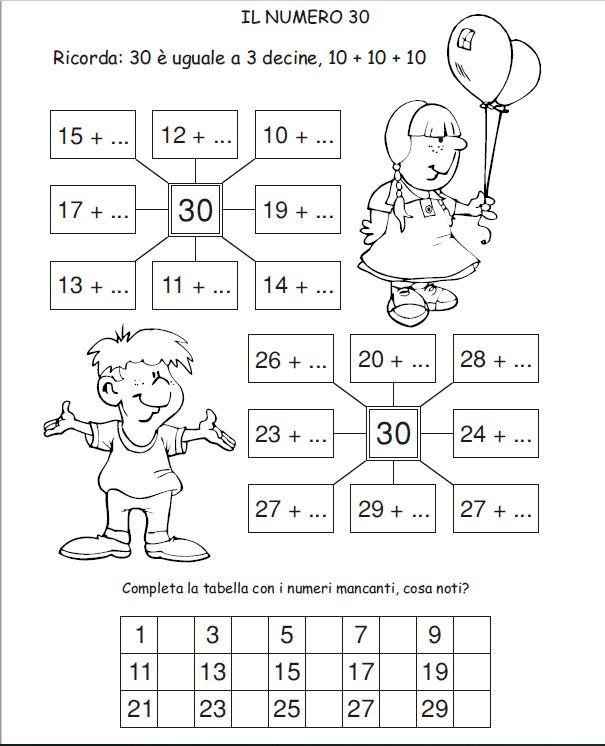 Terza Decina Numero 30 Matematica Classe2 Maestramonica